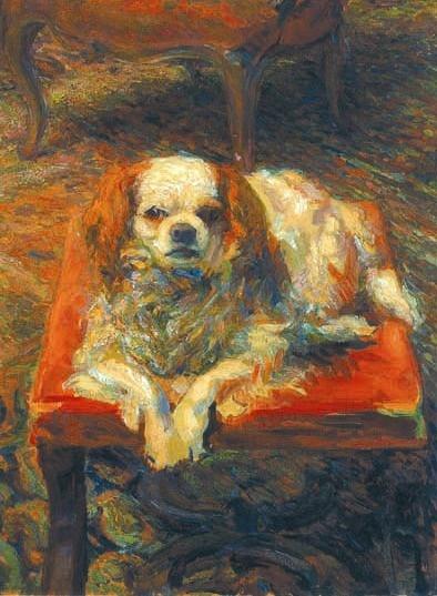 ♞ Artful Animals ♞ bird, dog, cat, fish, bunny and animal paintings - Umberto Boccioni, Dear Betty 1909