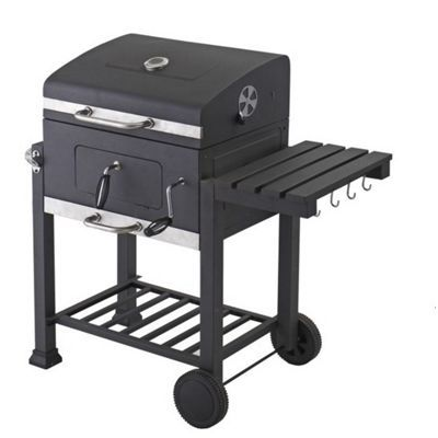 Tesco Toronto Charcoal BBQ Grill with side table £139