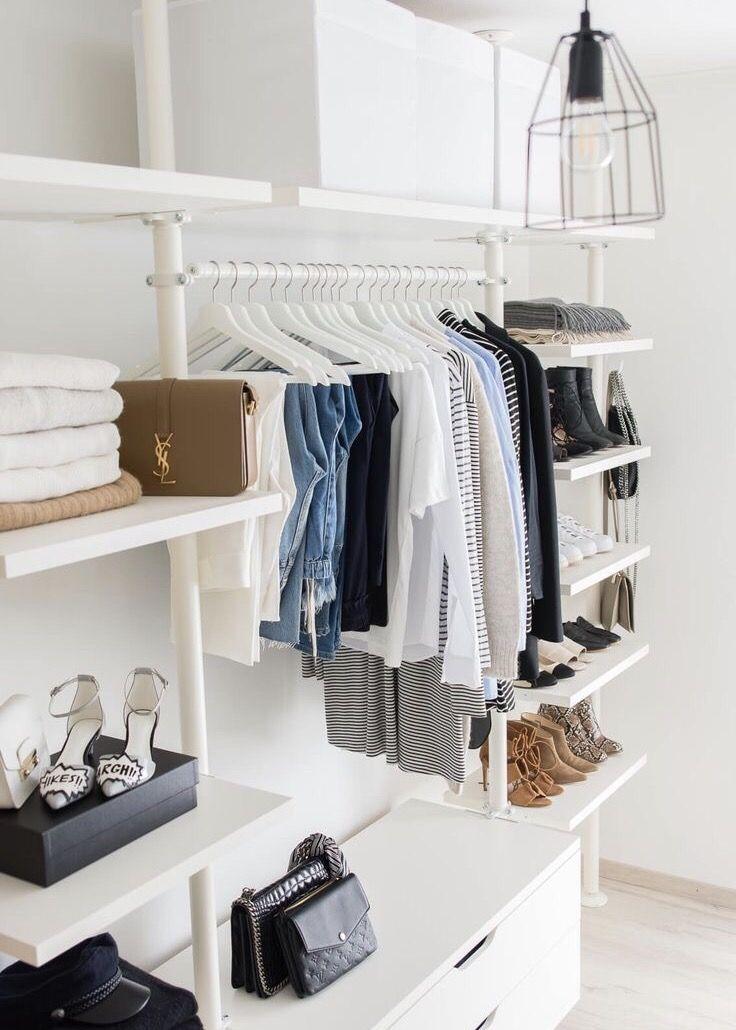 60 Inspiring Minimalist Walk In Closets Design