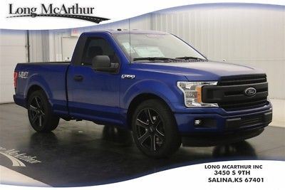 2018 Ford F 150 Regular Cab Lightning Style 5 0 V8 10 Sd Lowered Sport Truck Xl Earance Package Box Side Decals 17 Silver