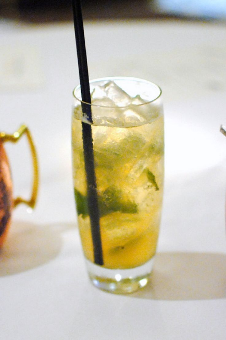 Cocktail Basito, the original recipe of the drink made with basil and white rum