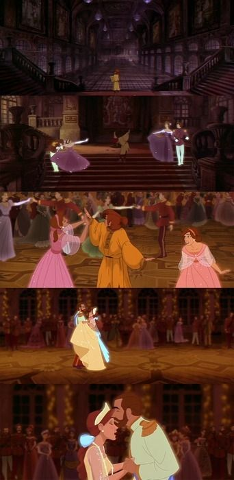 My favorite part of the whole movie, although I know that Anastasia is not Disney, I just really love the movie