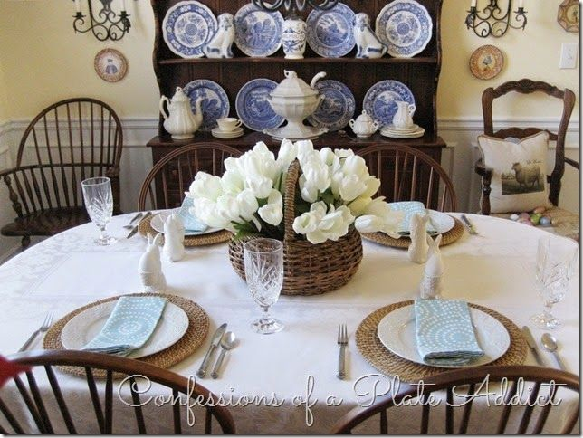 CONFESSIONS OF A PLATE ADDICT A Simple Spring Tablescape