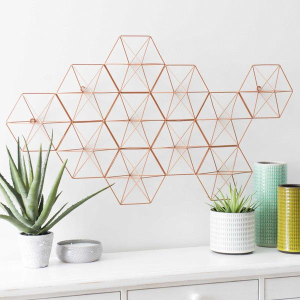247 best himmeli images on pinterest handmade ornaments straws and cra - Decoration mural en metal ...