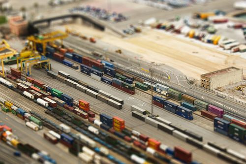 Photoshop tilt shift al port