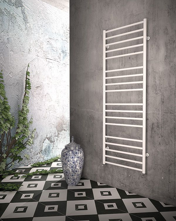 DL Radiators offers electric towel warmers for users to enjoy the pleasure of flexible and quick warmth. #design #radiators #interiordesign #DLRadiators #inspiration #minimal #architecture