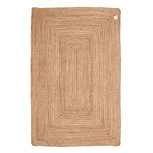 Vloerkleed Sisal Vierkant, Naturel, medium