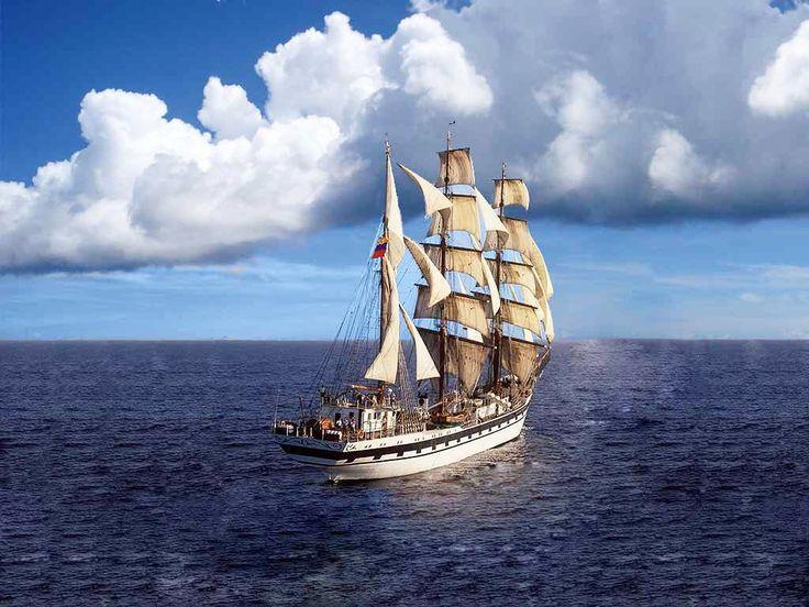 """""""...suelta las cuerdas de tus velas. Navega lejos del puerto seguro. Atrapa lots vientos favorables en tu velamen. Explora. Sueña. Descubre."""" #sailing #sealife #sailorsworld #ocean #wind #seaworld #sailboat #sailmakers #velamar_sailmakers by velamar_sailmakers"""