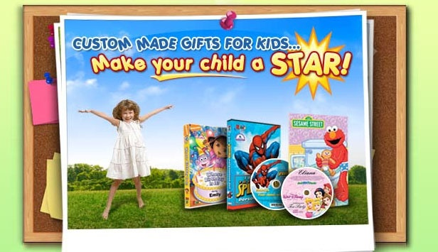 Personalized Children's Books, DVDs and Music CDs from MakeABook.ca
