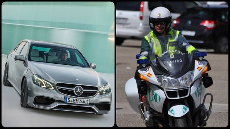 Spanish police impound fleet of Mercedes AMGs from media test drive.