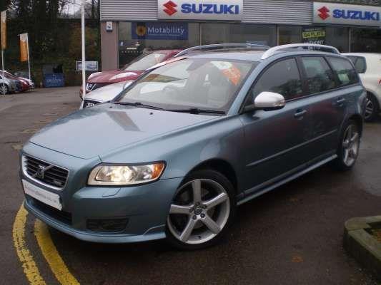 Used 2009 59 Reg Blue Volvo V50 2 0d Se 5dr For On