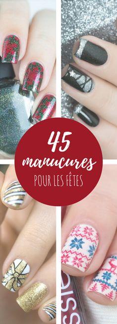 45 idées de nail art pour Noël et le Nouvel An !