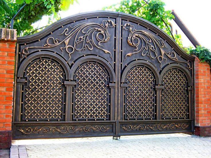 поговорим том, элитные кованые ворота москва первом