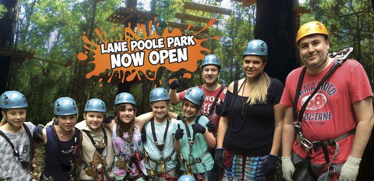 Lane Poole Park - Tree Top Climbing in Dwellingup!