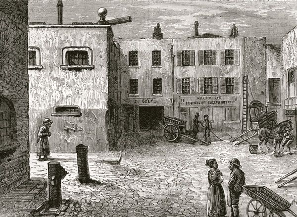 A Walk In Long Forgotten London | Spitalfields Life