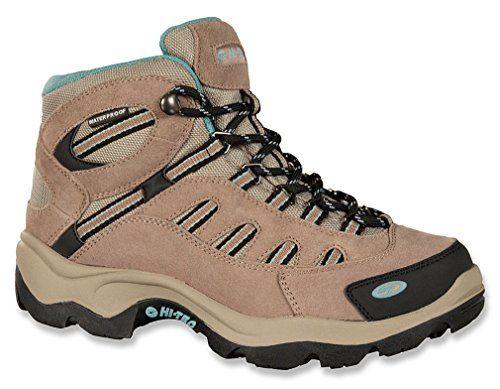 Hi-Tec Women's BANDERA MID WP Taupe Hiking Boot 5 M Hi-Tec