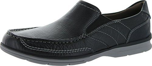 Leather and suede upper flex with foot while walking Synthetic lining buffer the foot Lightweight ethylene vinyl acetate outsole reduces fatigue