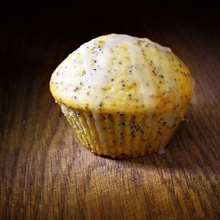 Нежные йогуртовые кексы с маком и лимоном