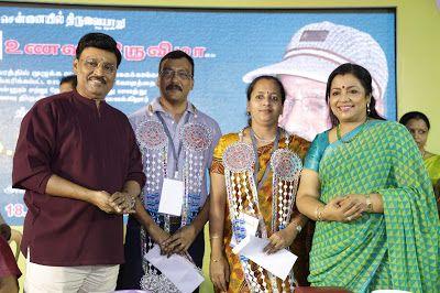 K Bhagyaraj & Mrs Poornima Bhagyaraj Inaugurated Unavu Thiruvizha