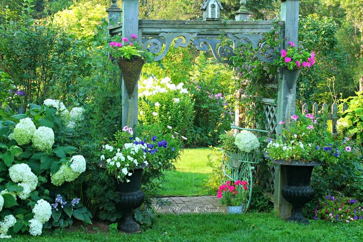Aiken House  Gardens: Summer Garden Favorites
