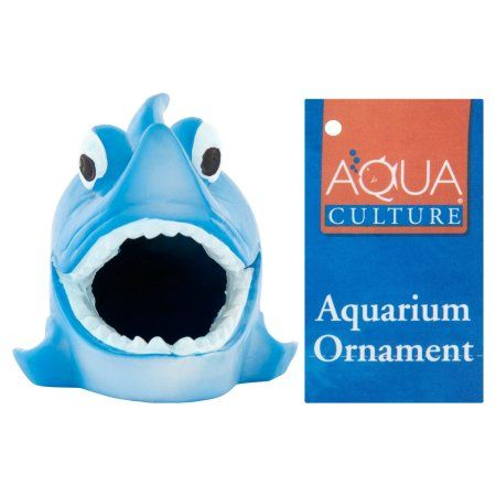 Aqua Culture Fish Cave Aquarium Ornament, Assorted
