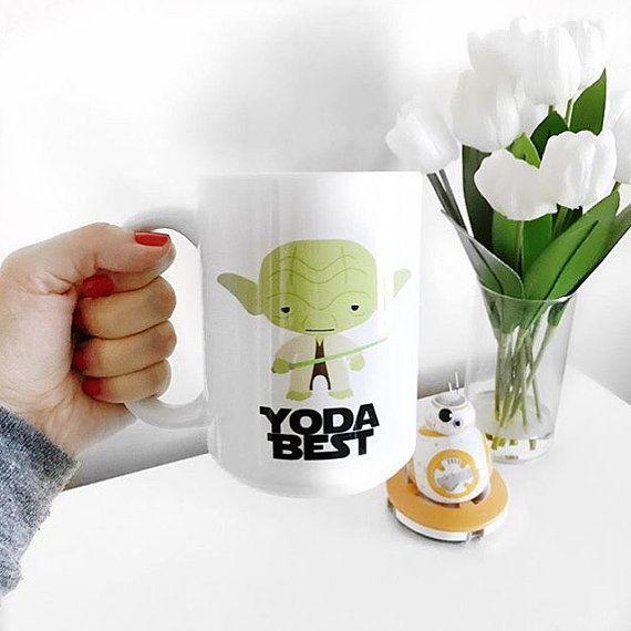 """Yoda Best Coffee Mug $14 or $16 for """"Yoda Best Pam"""" or """"Yoda best stepmom"""""""