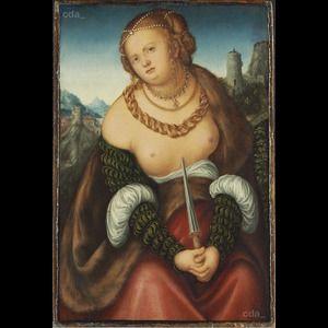 Lucas Cranach - The suicide of Lucretia.