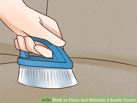 4 Ways to Clean and Maintain a Suede Couch - wikiHow