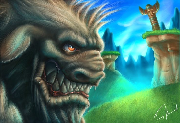 tommy karnerfors ARTcreations: Angry Gnoll