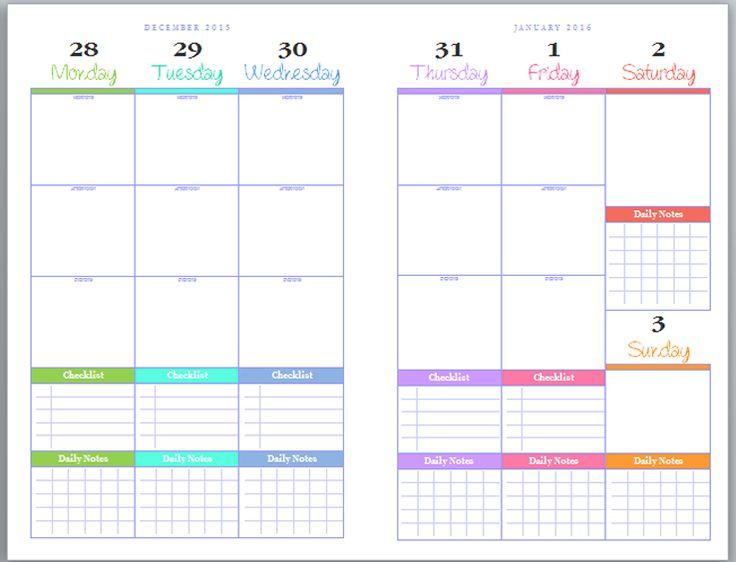 1061 best time management images on Pinterest Free printables - planner format