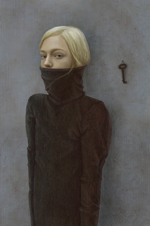 Illustration by Galya Zinko (Галя Зинько), Serezhin Sweater. (Russia)