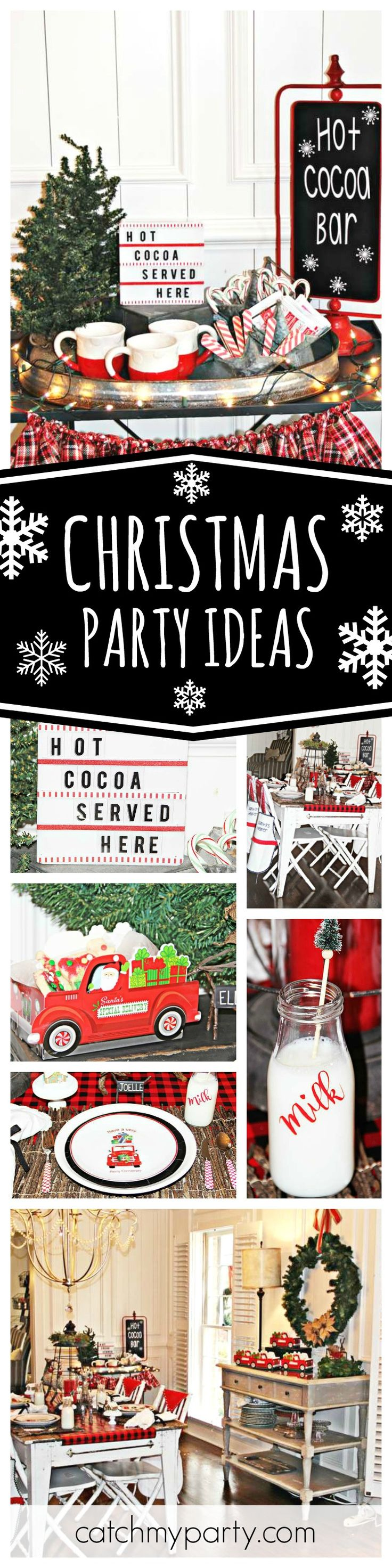 If you're planning a Holiday cookie decorating party then you are going to love this one. The table settings are gorgeous!! See more party ideas and share yours at CatchMyParty.com