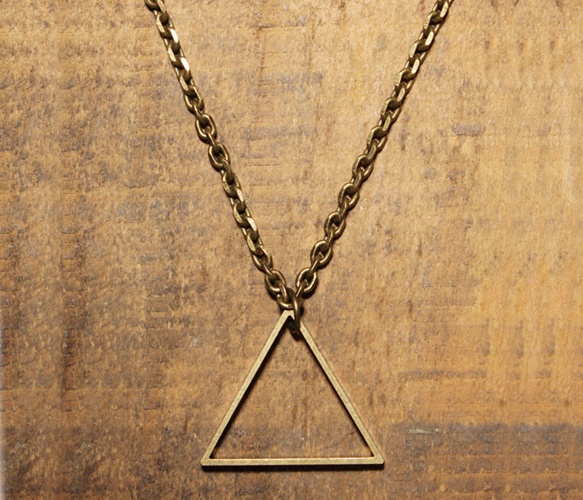 Triangle Necklace from We Are All Smith, on sale on Uncovet