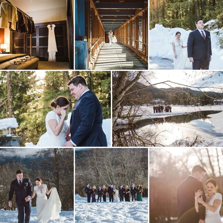 Nic + Cole January 23 2016 #Nita Lake Lodge, Whistler BC Wedding Planner: www.seatoskycelebrations.com #Whistler