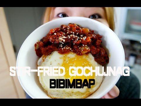 24 best food mainly korean recipes dayes mmshik images on stir fried gochujang bibimbap a simple recipe youtube forumfinder Gallery