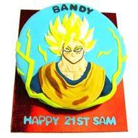 Dragon Ball Z Theme Cake