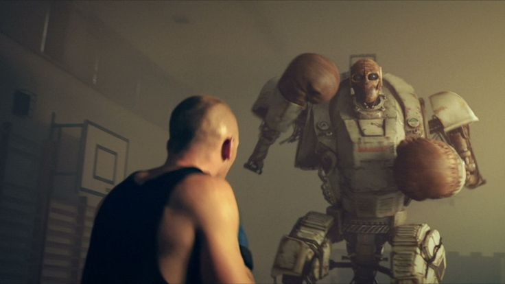 How To Train Your Robot, Short Film About a Boxing Trainer Teaching a Robot How to Fight