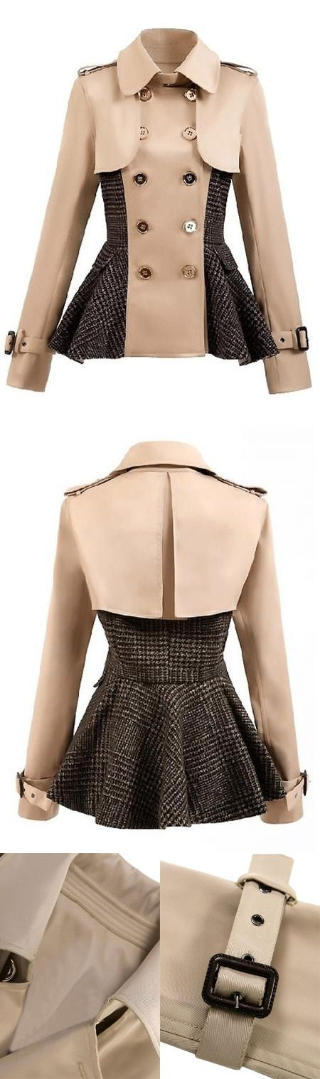 Love this coat, the design of peplum is special and can accentuates your graceful figure. Want to save $25,welcome to mynystyle.com