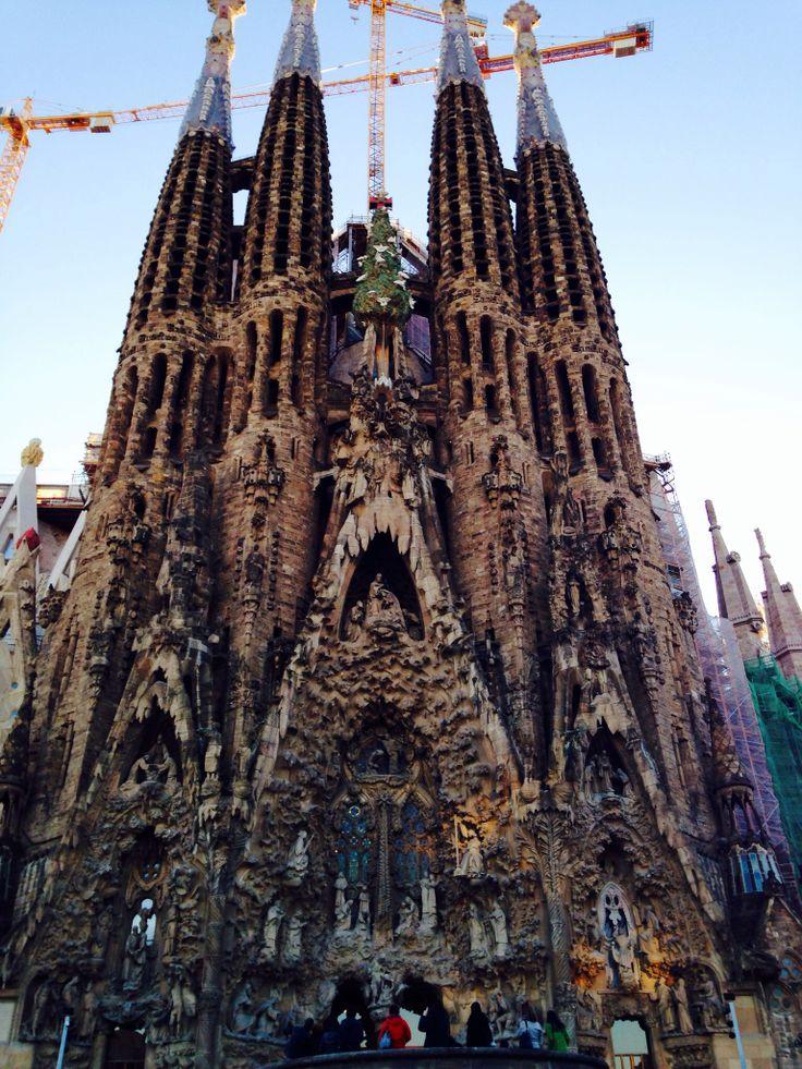 La Sagrada Famillia. Barcelona