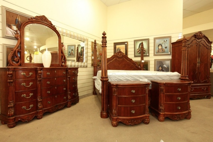 Pulaski King Bedroom Set Colleen's Classic Consignment