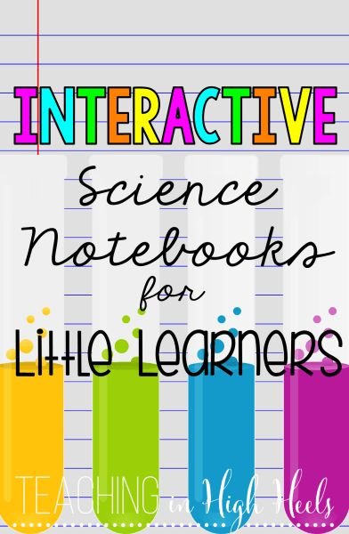 Interactive science notebooks keep your students engaged, accountable, and organized. I love them!