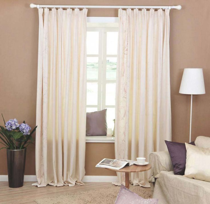 White Bedroom Curtains