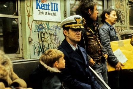 papa, on descend où ? (photographe : Willy Spiller : subway, New York, 1977-1984)