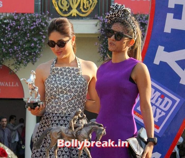 Kareena Kapoor at 'Mid Day Race'