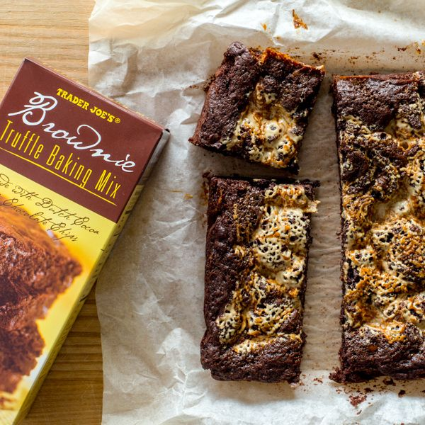 Trader Joe S Brownie Truffle Baking Mix Continues To Be A Customer