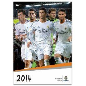 REAL MADRID OFFICIAL 2014 CALENDAR. Regular Price: $17.99