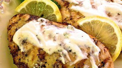 Recipes Good Food: Grilled Lemon Yogurt Chicken
