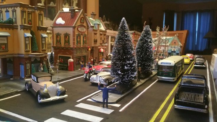 Christmas in the city display in the works
