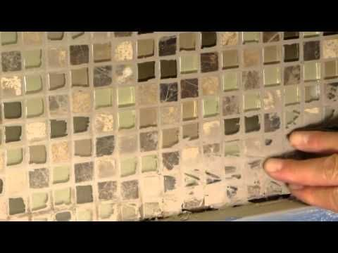 How to remove dried grout from tile