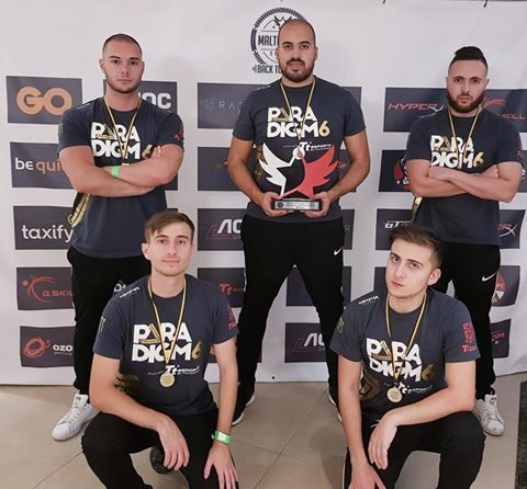 Shoutout to our sponsored team Paradigm6 who attended the Malta Cyber Series 3 - Back to Basics event last weekend and were the Call of Duty 2 Gold Tournament Winners. Congratulations! 🏆🏅🥇  Check out the news coverage and highlights here - https://goo.gl/z3VCYN  #TteSPORTS